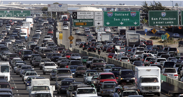 Things to do while you're stuck in California freeway traffic