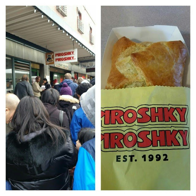 Russian Pirosky pastry