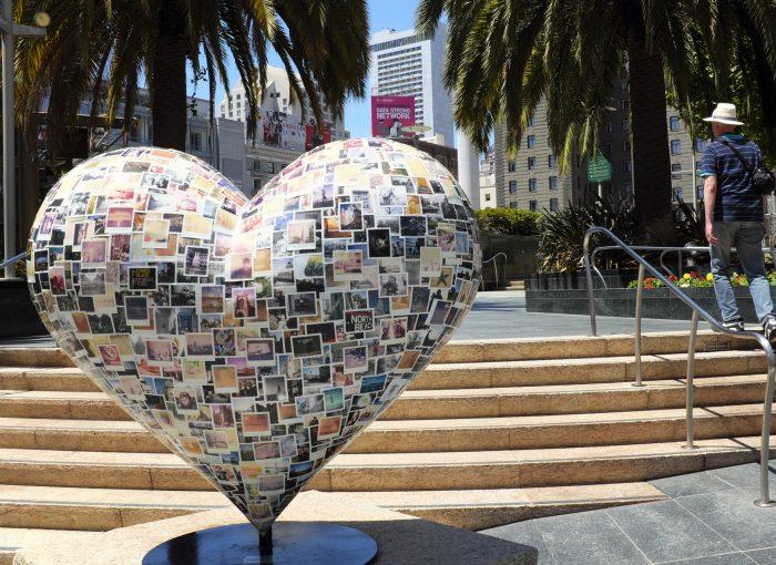 Union-square-San-Francisco-Hearts