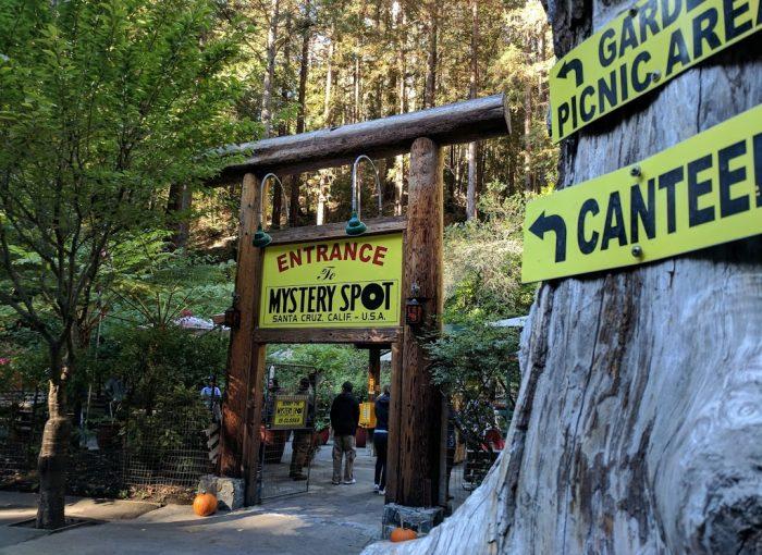 Entrance to The Mystery Spot, Santa Cruz