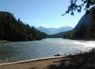 Explore Canada by train and see this beautiful lake