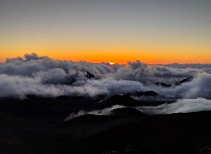 Things to do in Maui. Watch the Sunrise over Haleakala
