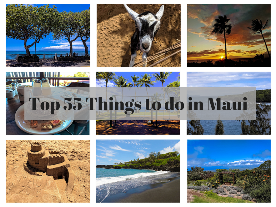 Top 55 things to do in Maui