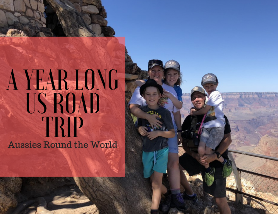 A year long US road trip