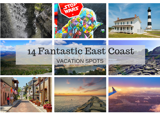 14 Fantastic East Coast vacation spots