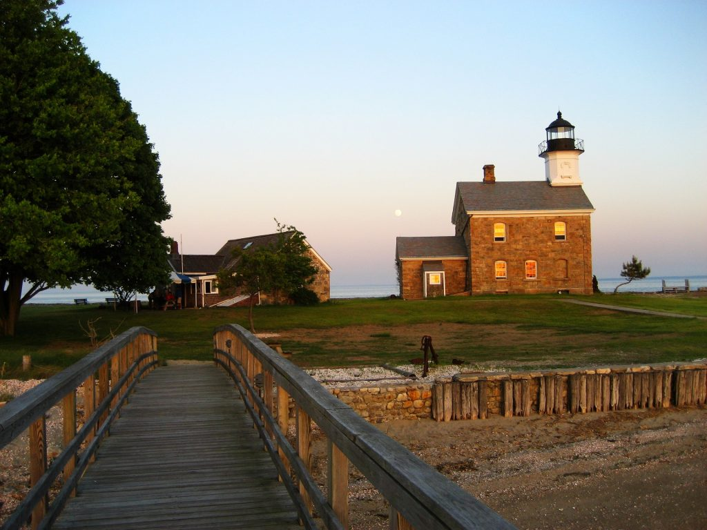 Sheffield Island Lighthouse in Norwalk Connecticut