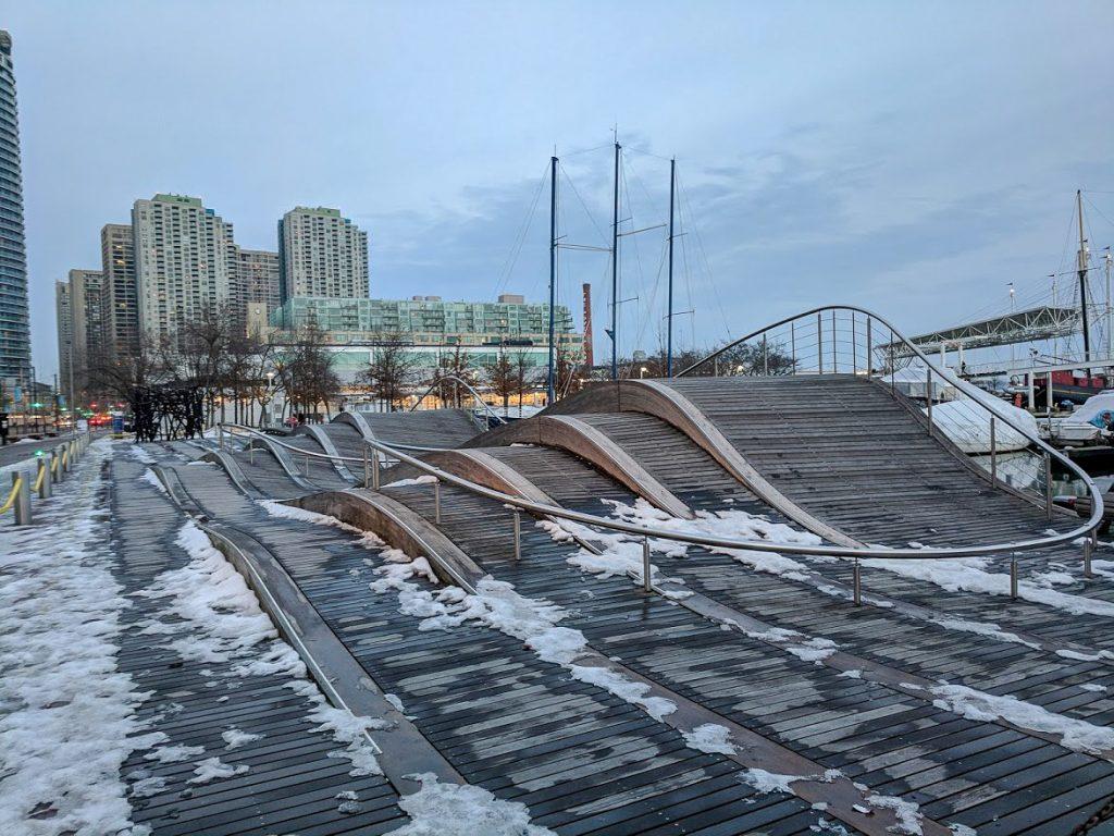Simcoe wave deck Toronto