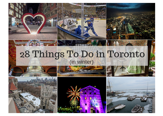 Top 28 things to do in Toronto in winter