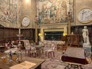 Tapestries in Hearst Castle's Assembly Room