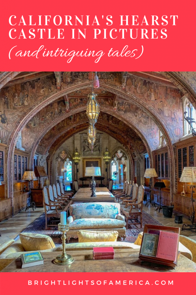 Pictures from California's #HearstCastle, full of antiques and with views that will take your breath away!
