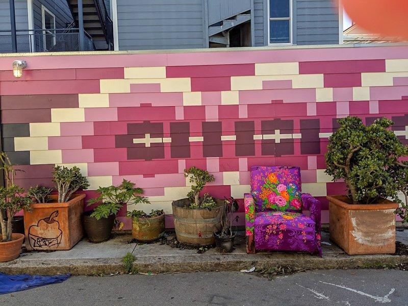 San Francisco Balmy Alley Street Art