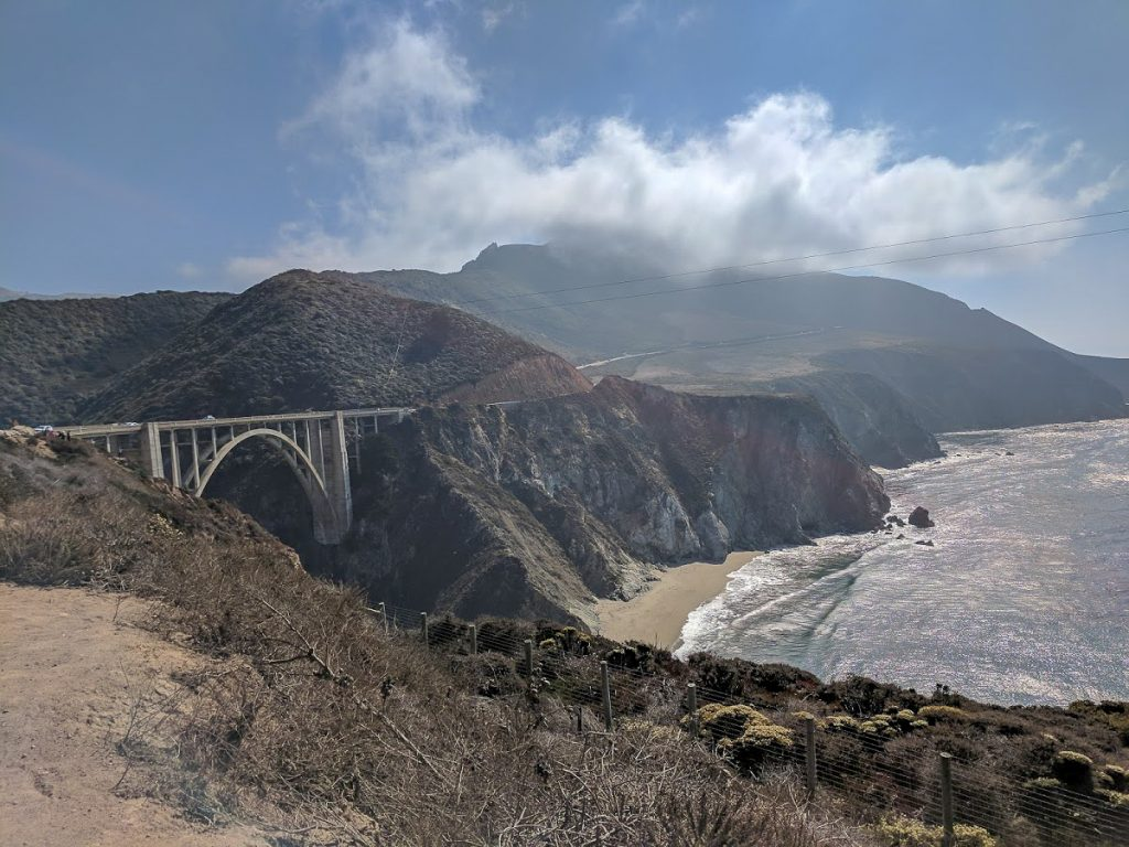 Bixby Creek Bridge in California