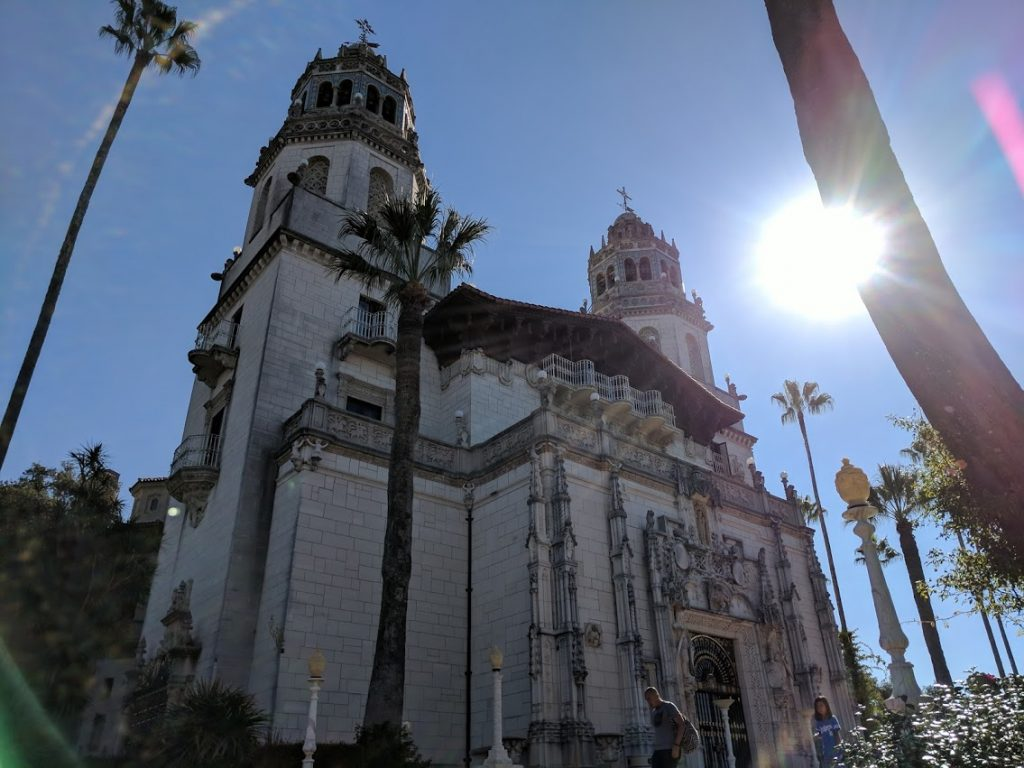 Hearst Castle in San Simeon