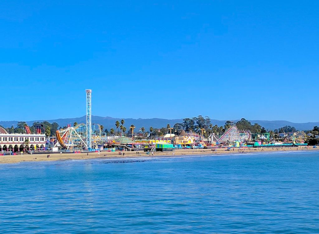 Santa Cruz Boardwalk Carnival