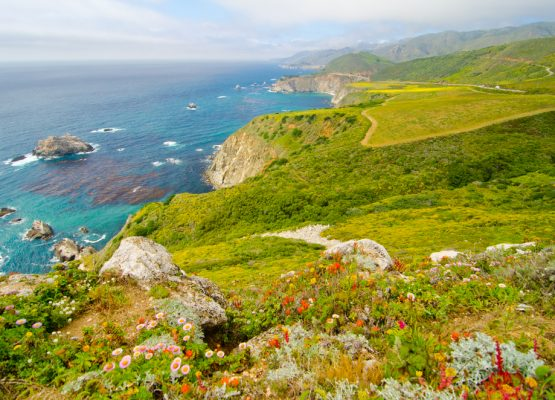 California coast road trip itinerary