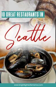 Best restaurants in #Seattle. Best places to eat in Seattle. Breakfast, lunch and dinner in Seattle.