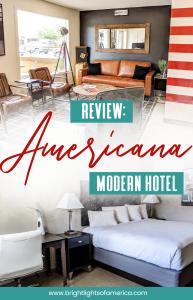 Americana Modern Hotel, Redding California review. Where to stay in #Redding California